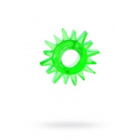 Зеленое эрекционное кольцо-солнце
