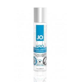Охлаждающий лубрикант на водной основе JO Personal Lubricant H2O COOLING - 30 мл.